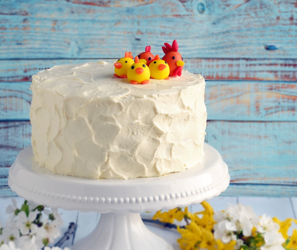 csokis paszternáktorta mascarponehabbal és sós karamellel - húsvéti torta