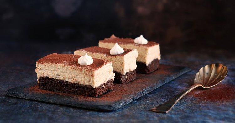 gesztenyés meggyes brownie recept