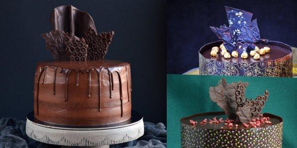 Csoki dekorációk készítése házilag egyszerűen - gyűrött hatású és buborékos csoki díszek