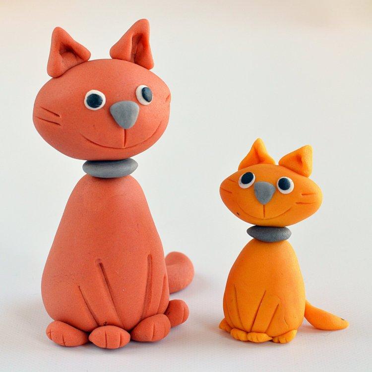 Fondant cica készítése egyszerűen - útmutató lépésről lépésre, cica figura fondantból