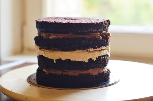 Földimogyorós torta recept - mogyoróvajas csokitorta