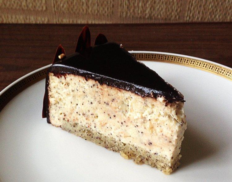 Mákos vaníliás mousse torta recept - nyuszi mousse torta készítése