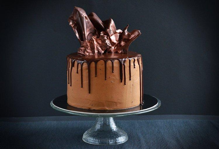 Baileys-es csokitorta recept - bronz csokivitorlák készítése