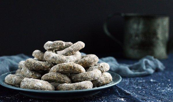 Mákos vaníliás kifli recept karácsonyra