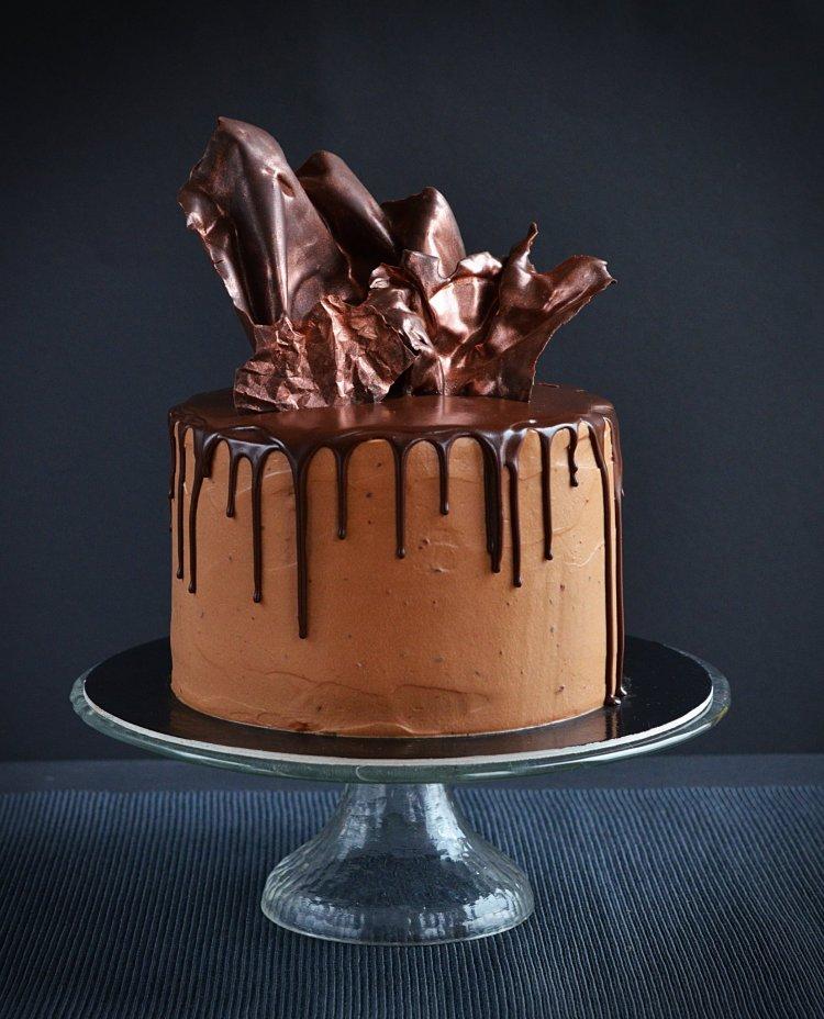 Baileys-es mascarponés csokitorta recept és csokivitorla