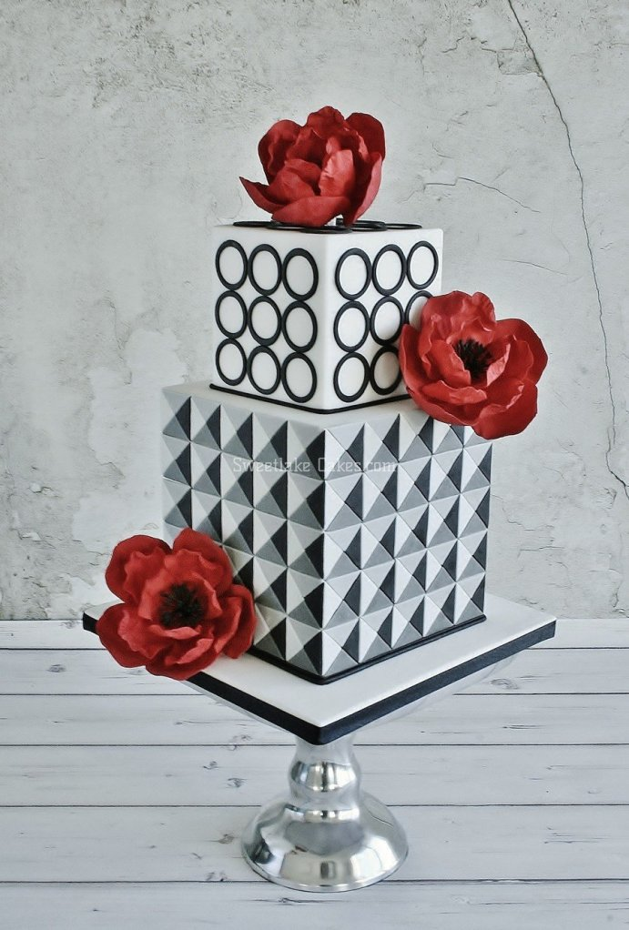 geometrikus torta