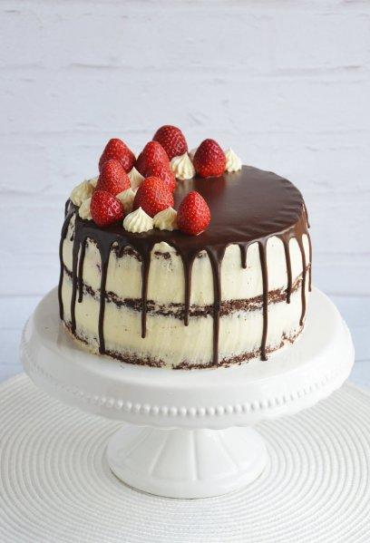 Epres-mascarponés brownie torta recept