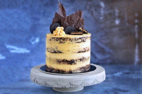 Mogyoróvajas pucér torta recept - földimogyorós torta