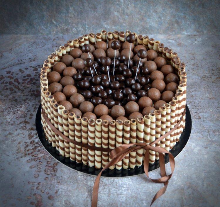 roletti torta - rolettis csokitorta készítése, recept