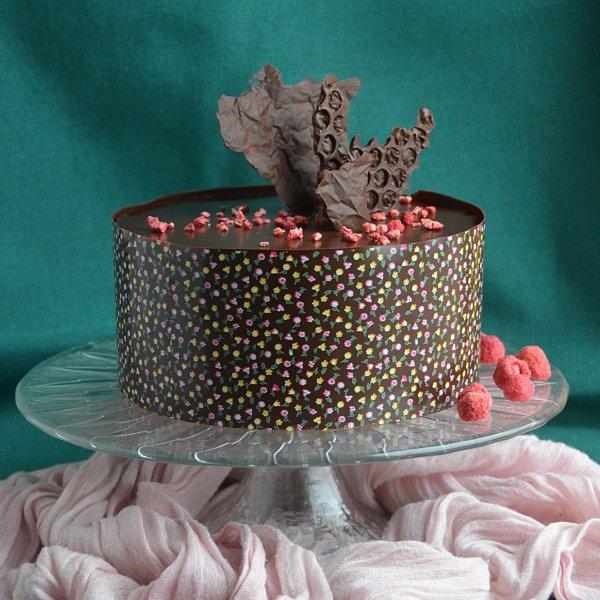 Csoki dekorációk készítése házilag egyszerűen - gyűrött hatású csoki díszek lépésről lépésre