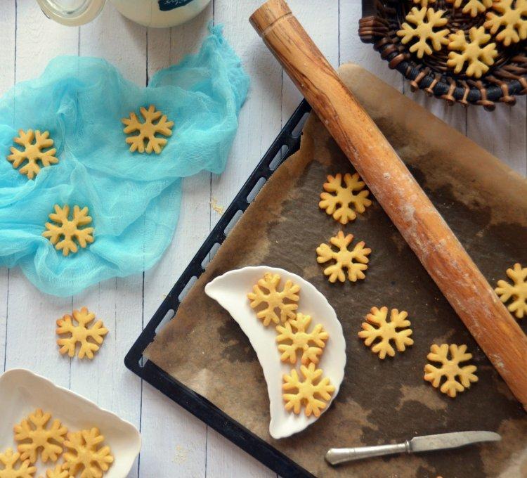 Jégvarázs shortbread kekszek - skót vajas keksz recept
