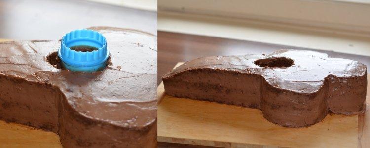 Forma 1 autó torta készítése házilag - lépésről lépésre fázisfotók