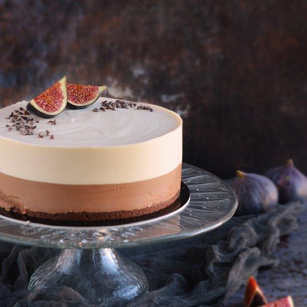 karamell-csoki mousse torta  recept