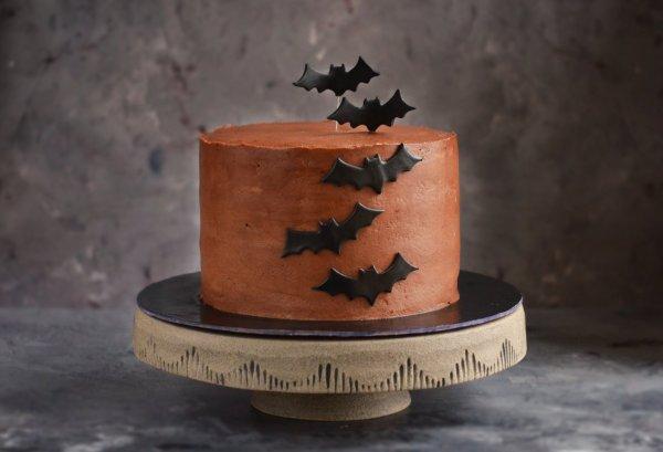 oreos csokitorta recept - denevér torta készítése halloween-ra