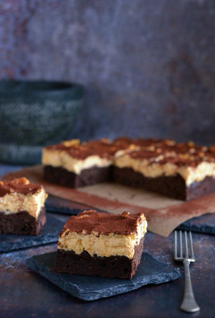 tiramisu brownie recept cukormentesen