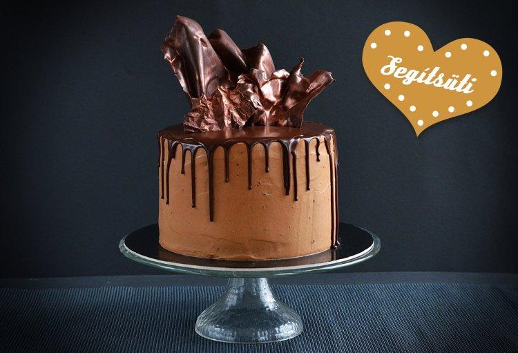 Baileys torta Segítsüti 2018 Sweet and Crazy