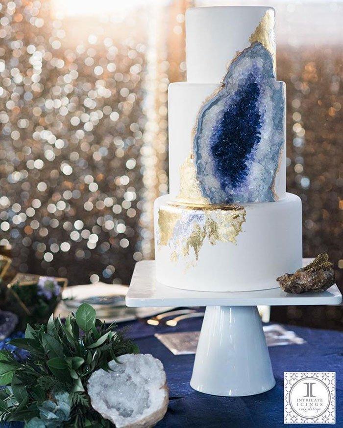 ametiszt torta, ásvány torta