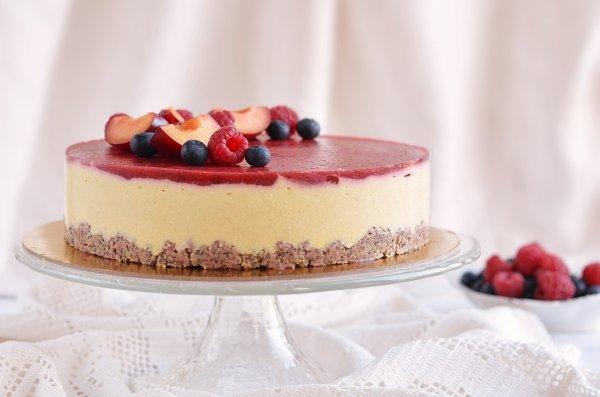 cukormentes epres vanília mousse torta recept