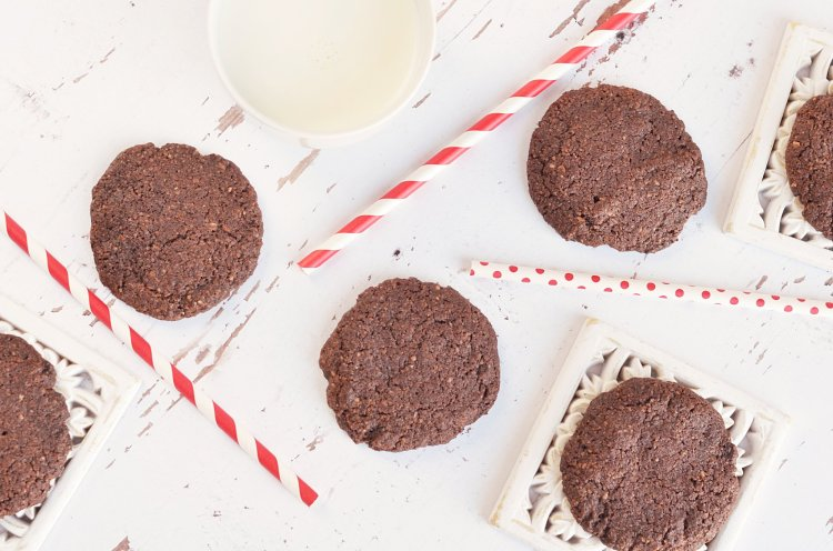 teljes kiőrlésű csokis keksz recept házilag gyorsan és egyszerűen