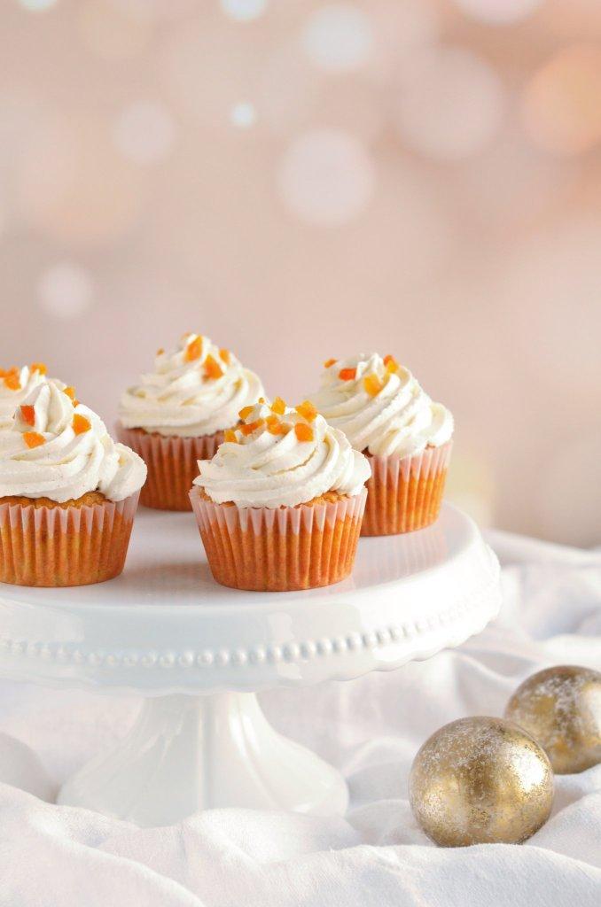 karácsonyi mézeskalácsos-sütőtökös cupcake recept