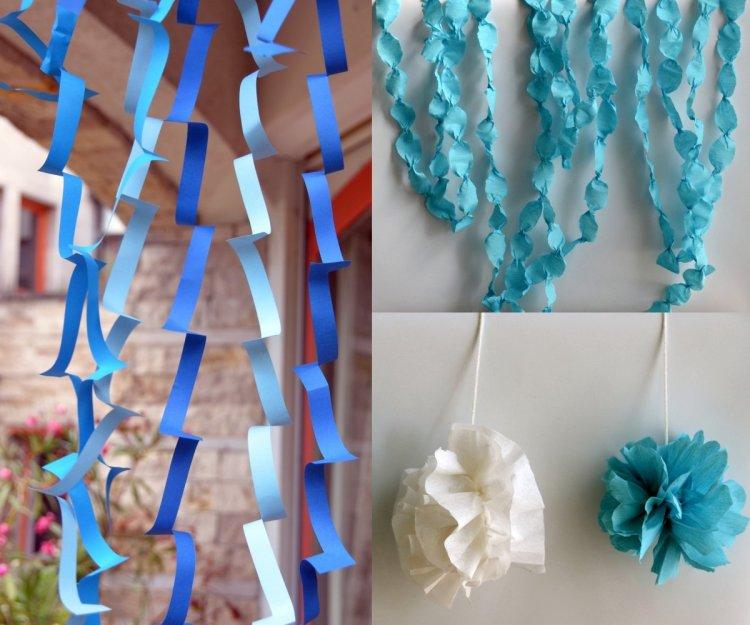 Jégvarázs buli dekoráció házilag