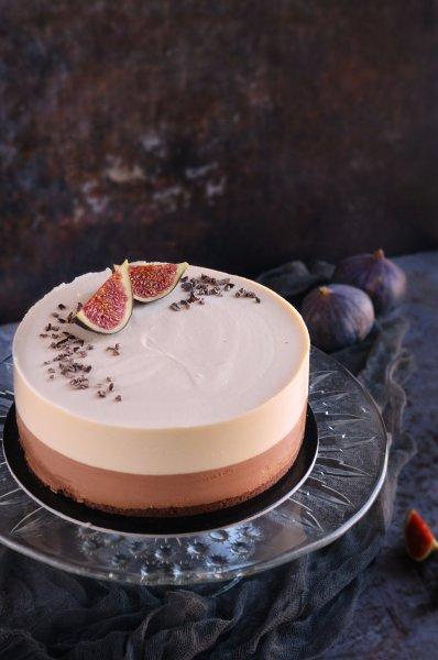Csokis sós karamell mousse torta recept fügével