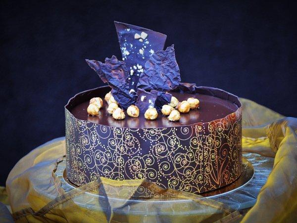 Csokoládé dekoráció készítése egyszerűen lépésről lépésre