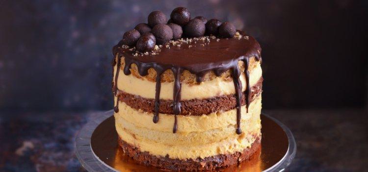 somlói galuska torta recept házilag