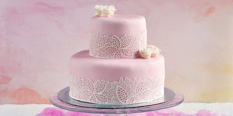 Cukorcsipke készítése tortára - csipkés torta házilag