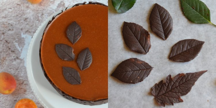 Csokilevél készítése házilag