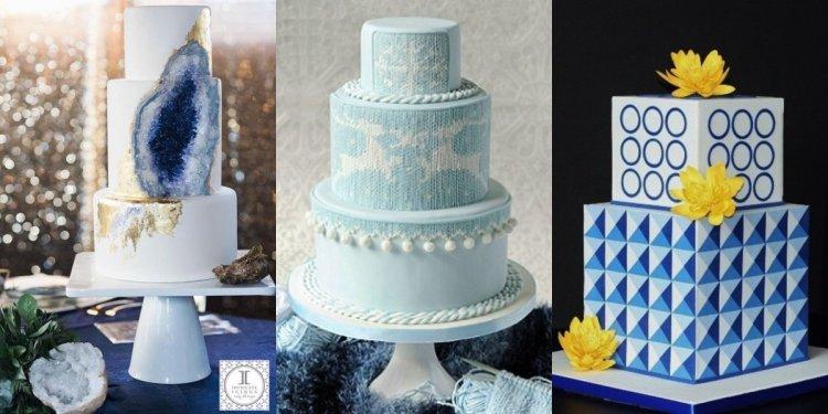 Torta trendek: ásvány torta, kötött hatású torta, geometrikus torta