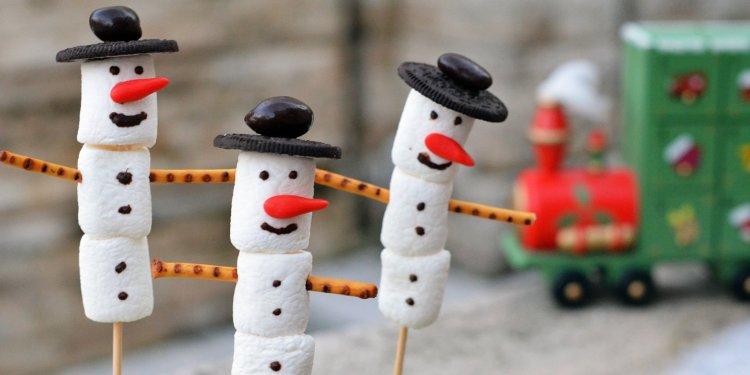 Pillecukor hóember készítése házilag adventre
