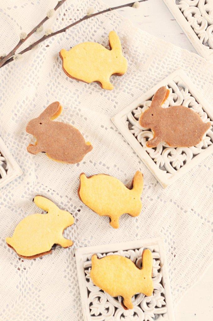 húsvéti nyuszis pilóta keksz recept házilag
