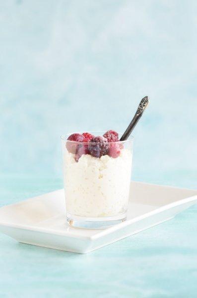 cukormentes túrós rizspuding recept - túrós tejberizs készítése cukor nélkül