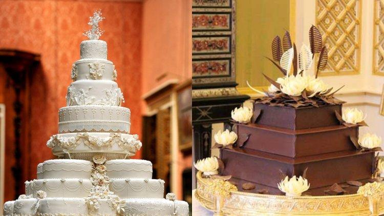 Kate Middleton és Vilmos herceg esküvői tortái