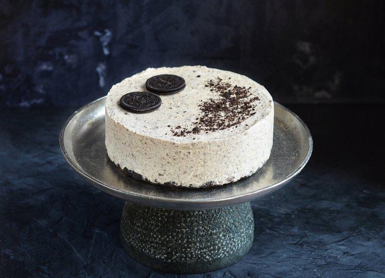 oreo fagyitorta recept házilag - oreo kekszes házi jégkrémtorta készítése