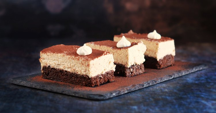 gesztenyekrémes brownie recept meggylekvárral