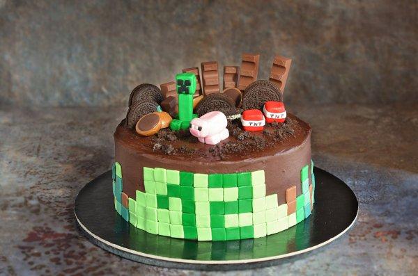 Minecraft torta készítése házilag - doboskrém recept