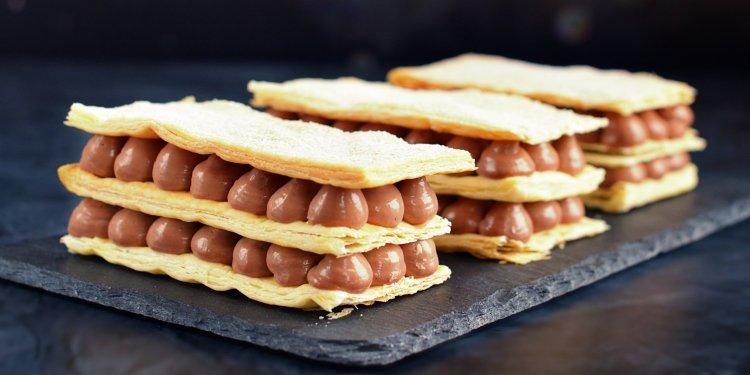 fahéjas-csokikrémes mille-feuille recept - csokis krémes készítése házilag
