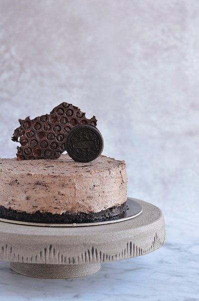 gluténmentes oreo mousse torta recept házilag