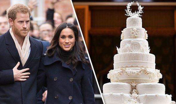 Harry herceg és Meghan Markle esküvői tortája