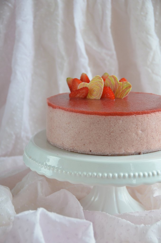 epres-rebarbarás mousse torta
