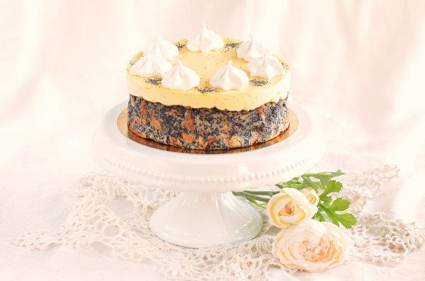 narancskrémes mákos guba torta recept