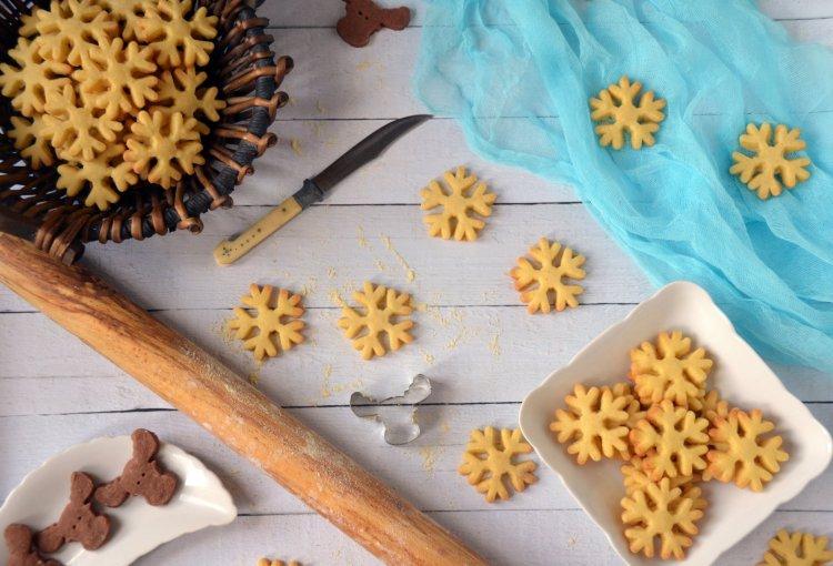Jégvarázs kekszek - shortbread recept, azaz skót vajas keksz