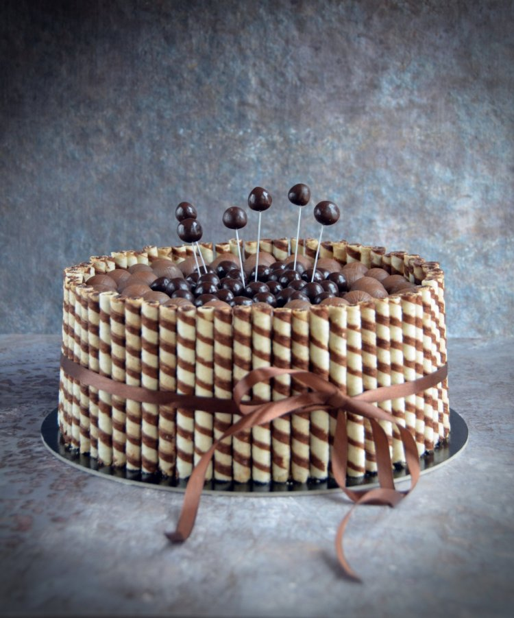 roletti torta - rolettis csokitorta recept