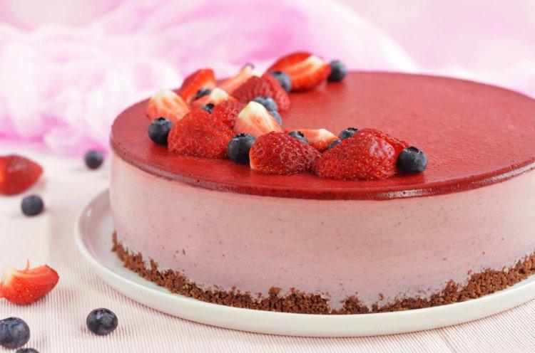 cukormentes epres joghurttorta recept
