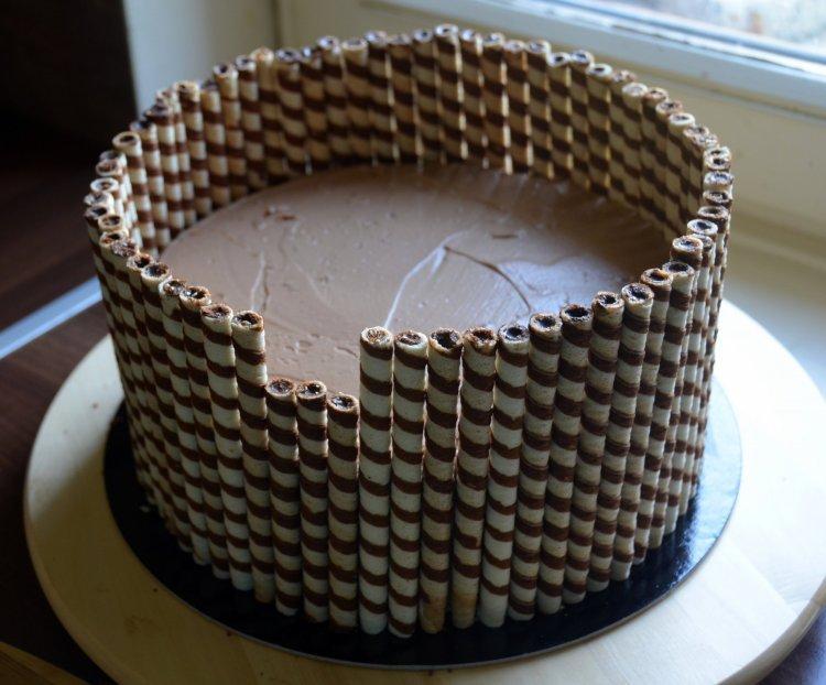 roletti torta készítése