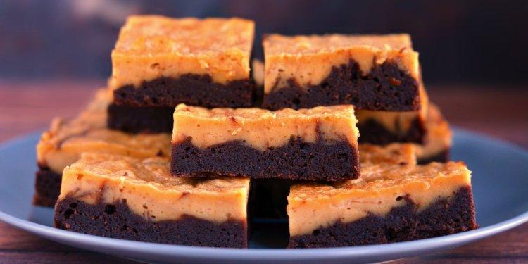 mogyoróvajas-mascarponés brownie recept