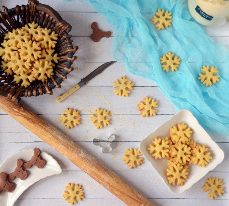 Jégvarázs kekszek - shortbread recept