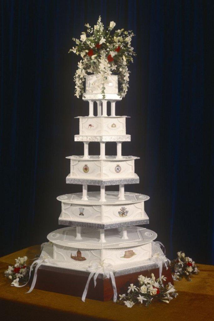 Diana hercegnő és Károly herceg esküvői tortája